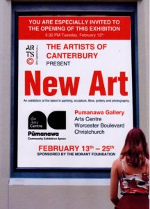 Flyer for Pumanawa exhibition 2018